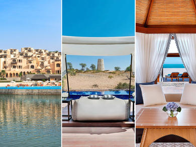 Three hotels with private pools in Ras Al Khaimah