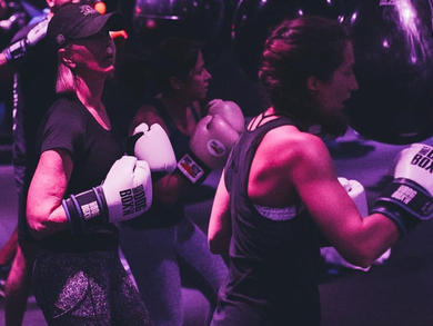 Take on this extreme boxing home workout