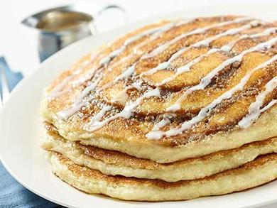 Recipe: The Cheesecake Factory's Cinnamon Swirl Pancakes