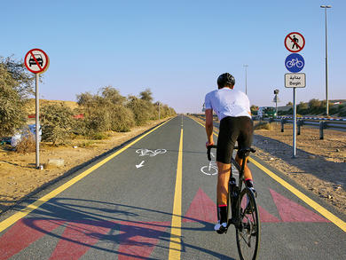 Where to exercise outdoors in Dubai