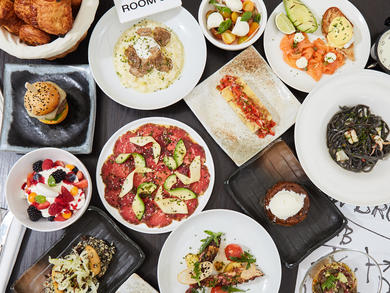 Restaurants serving brunch in Dubai