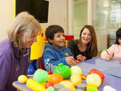 Great Ormond Street Hospital play experts share resources to help families in the UAE