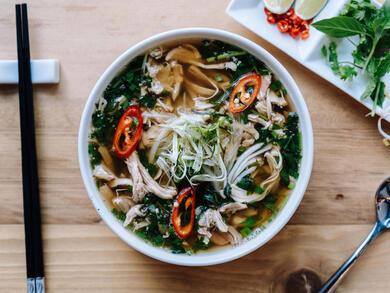 Recipe: Vietnamese Foodies' beef or chicken pho
