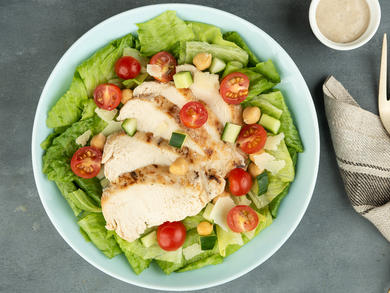 Recipe: Sweetheart Kitchen's chicken Caesar salad
