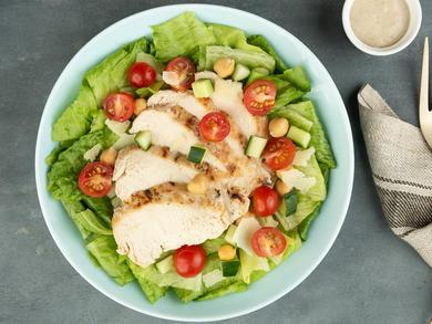 Recipe: Sweetheart Kitchen's chicken Caesar salad