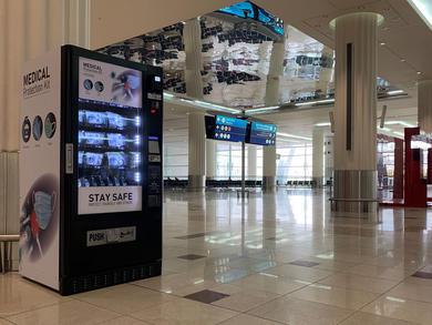 Dubai International Airport launches PPE vending machines