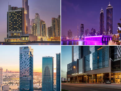 Top hotels in Dubai's Business Bay