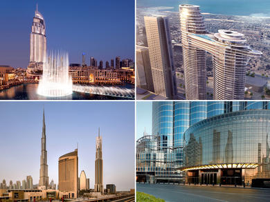 Top hotels in Downtown Dubai