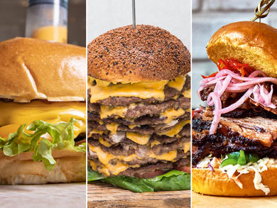 Check out Dubai's most outrageous burgers