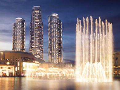 The Dubai Fountain resumes nightly shows