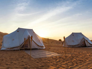 Desert camping experience Nara Escape reopens