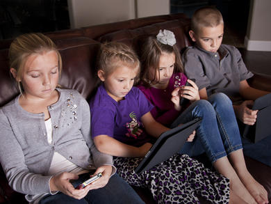 More than half of UAE parents have relaxed their rules on kids' screentime