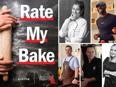 Rate My Bake: meet the judges