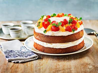 Recipe: Lurpak's Honey Butter Cake