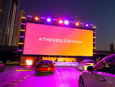 Dubai's Reel Cinemas opens new drive-in cinema at Dubai Hills