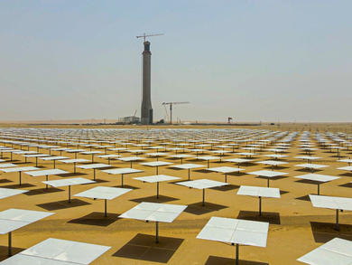 Dubai's massive Solar Park project ads new instalments to world's tallest solar power tower