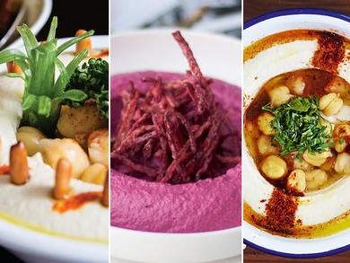 Dubai's best, most creative hummus