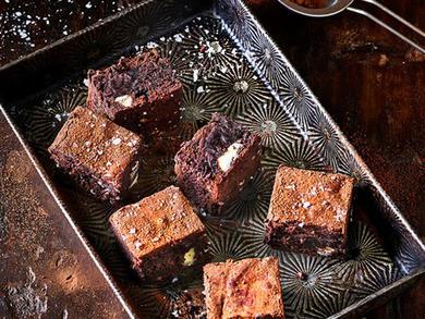 Recipe: Lurpak Double Chocolate Sea Salt Brownie