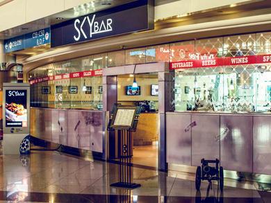 Bars in Concourse C, Terminal 3 at Dubai International Airport