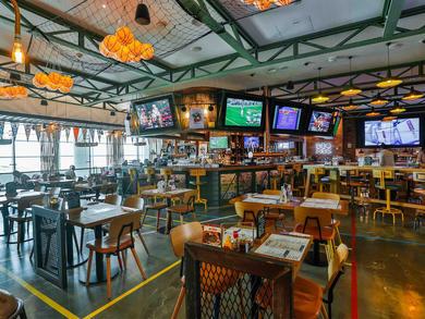 Bars in Concourse D, Terminal 1 at Dubai International Airport