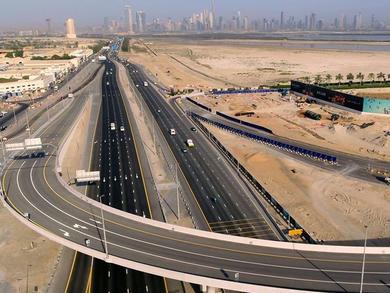 Massive new bridge leading to Dubai Creek Harbour opens