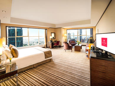 Book a stay at Grand Millennium Hotel and get the cost back in food and drinks