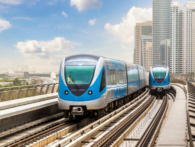 Dubai Metro extension to open in September
