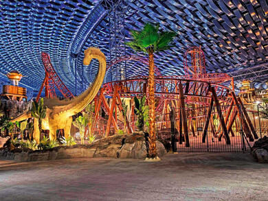 Dubai's IMG Worlds of Adventure reopens with pay-as-you-go attractions