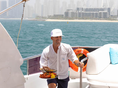 Cove Beach launches delivery on the sea