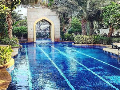 Hire out a private floor for a staycation at Conrad Dubai
