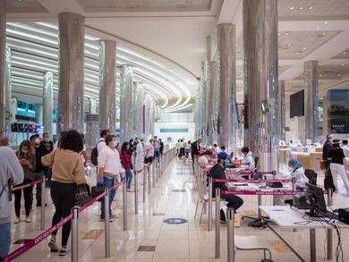 What to expect when travelling through Dubai Airport