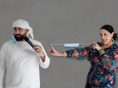Ali Al Sayed and Mina Liccione to perform comedy gig at Dubai Opera