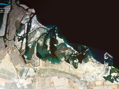 UAE satellite captures stunning images of Abu Dhabi and Dubai from space