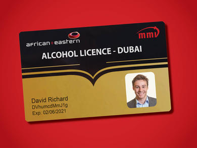 Dubai launches new smart alcohol licence