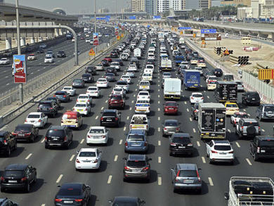 Where are the Dubai toll gates?