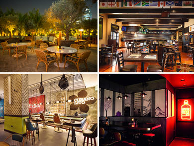Top bars near Dubai World Trade Centre