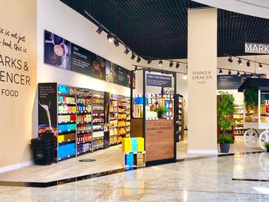 Marks & Spencer opens food pop-up in Dubai's Nakheel Mall