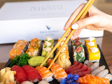 3 places to order in sushi platters from in Dubai