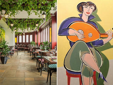 Paint & Grape at Dubai's Couqley French Bistro & Bar is back