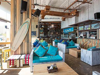 Dubai's Breeze Beach Grill is launching a new Saturday brunch