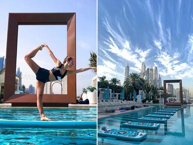 Super SUP Fit is relaunching at Dubai's DRIFT Beach