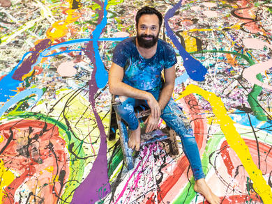 Humanity Inspired: Sacha Jafri on his massive Dubai art project