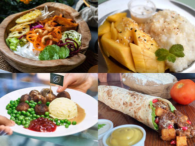 Eight brand-new vegan menus and dishes to try in Dubai