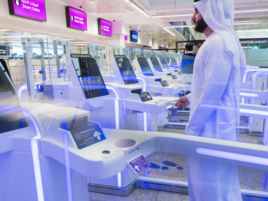 Smart Gates at Dubai Airport reactivated