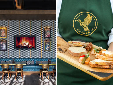 Dubai's The Duck Hook launches special British dishes