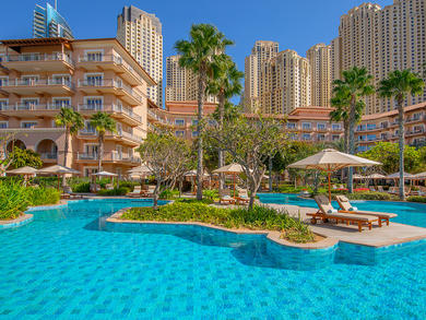 Mums get free pool access at The Ritz-Carlton, Dubai