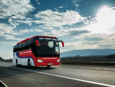 You could soon take a 70-day bus trip from India to London