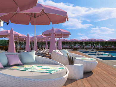 Brand-new rooftop pool bar from Dubai's Candypants opening next month