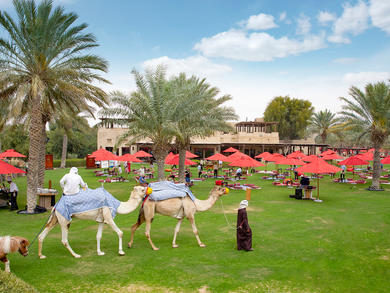 Dubai's Bab Al Shams has launched a brand-new picnic brunch