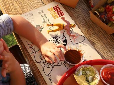 Kids eat free at Taqado until the end of October
